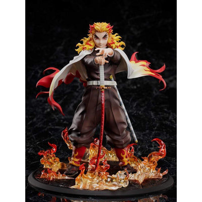 Aniplex PVC Figures Demon Slayer -Kimetsu no Yaiba- The Movie: Mugen Train Kyojuro Rengoku 1/8 Scale Figure