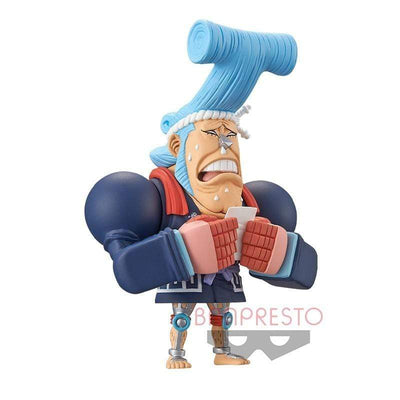 Banpresto Figure One Piece Franky WCF Wano Kuni Vol. 2 Banpresto