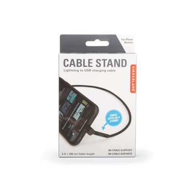 Kikkerland Novelty Cable Stand Charging Cord Iphone