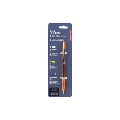 Kikkerland Novelty Copper 3-in-1 Pen Tool