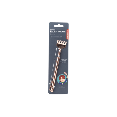 Kikkerland Novelty Copper Back Scratcher