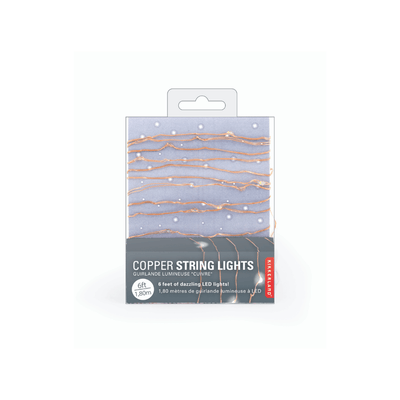 Kikkerland Novelty Copper Lights