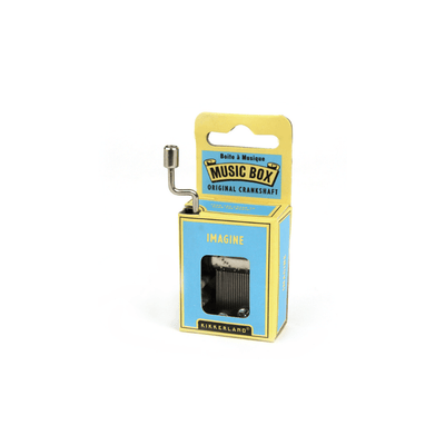Kikkerland Novelty Imagine Crank Music Box