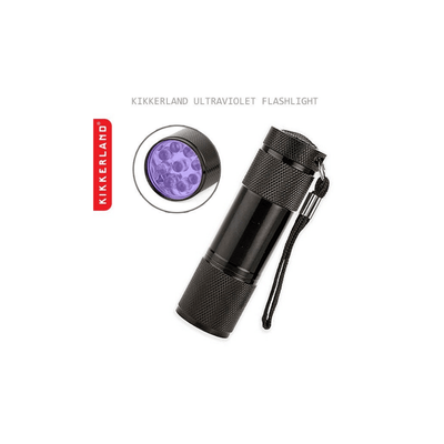 Kikkerland Novelty Ultraviolet Flashlight