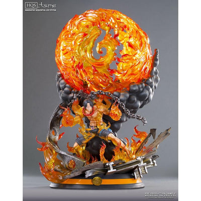 Tsume Art Resin Statues Portgas D. Ace HQS By Tsume