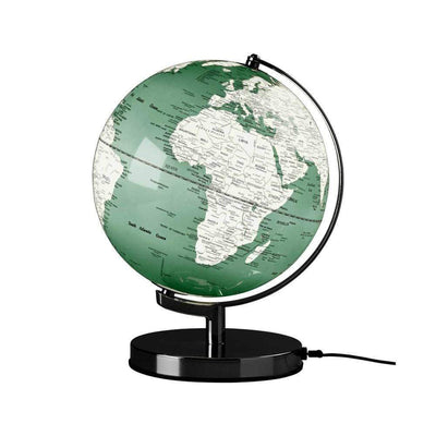 Wild & Wolf Novelty Globe Light 10 inch Swedish Green
