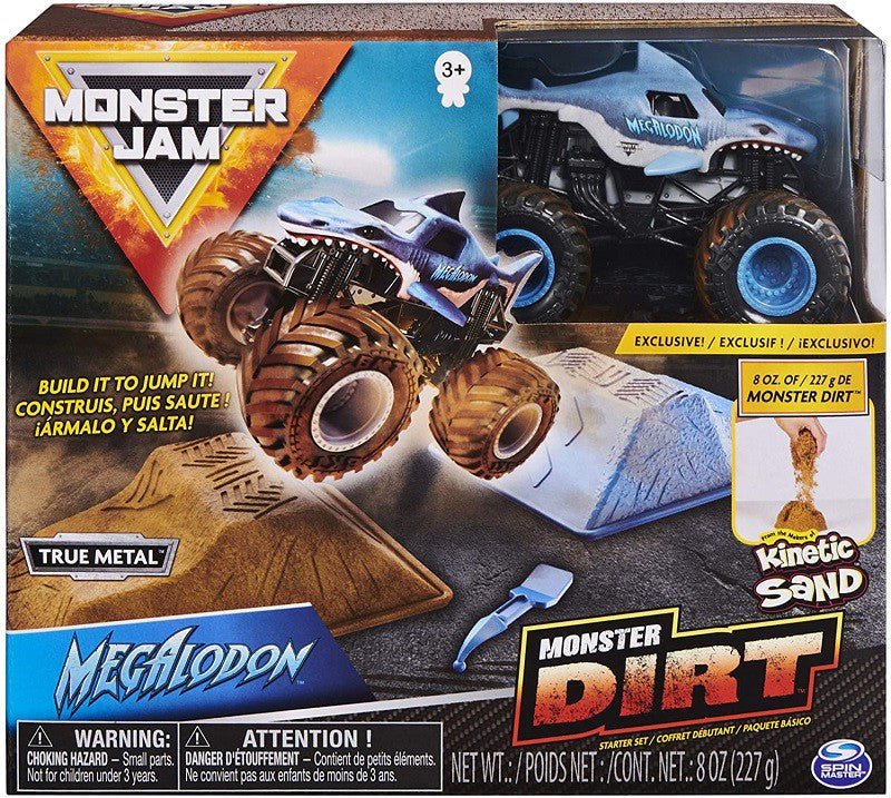MONSTER JAM DIRT STARTER MODELLI ASSORTITI