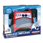 Amplificatore Wireless con 2 microfoni Bontempi