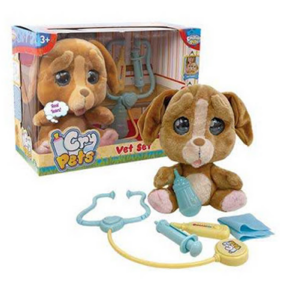 Cry pets set veterinario