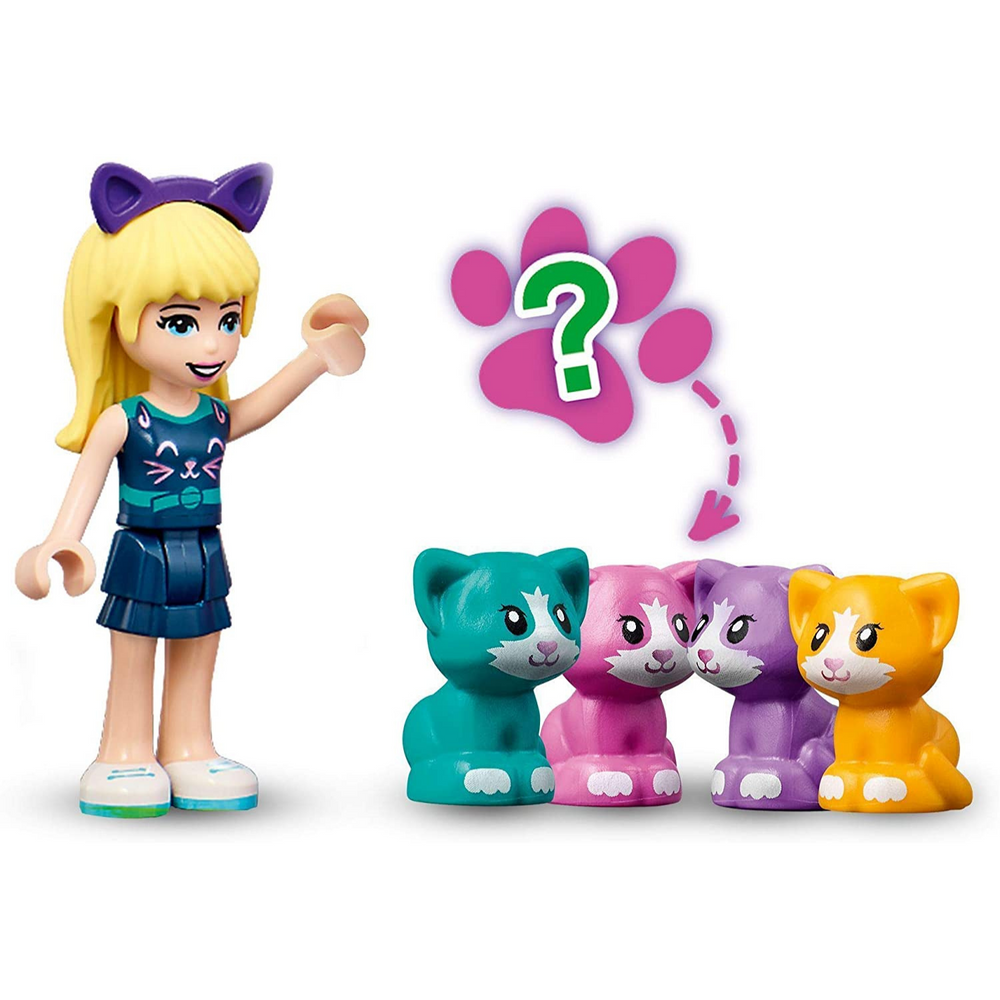 Lego Friends 41665 - Il cubo del Gatto di Stephanie
