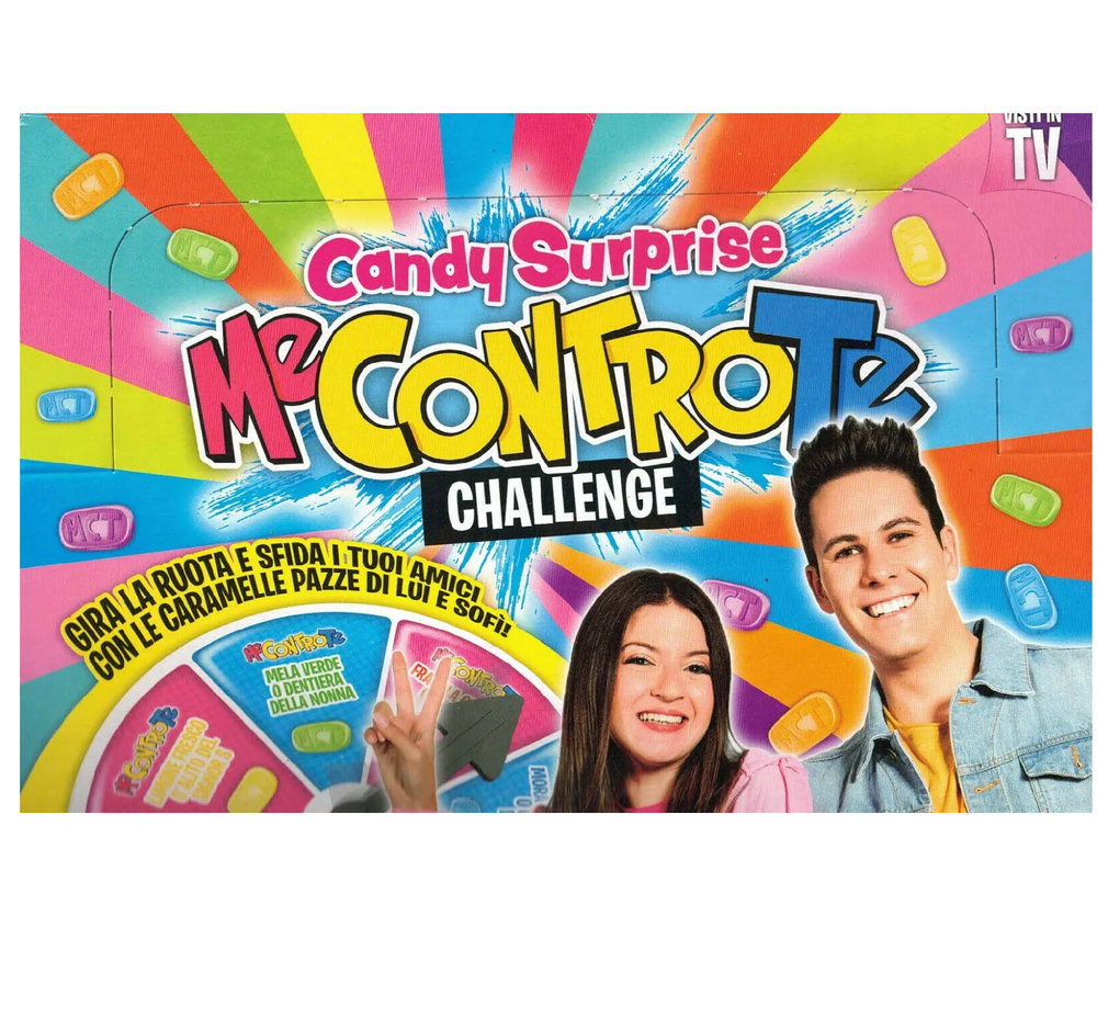 Me Contro Te Candy Surprise Challenge caramelle