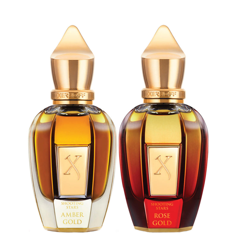 Amber Gold 50ml & Rose Gold 50ml