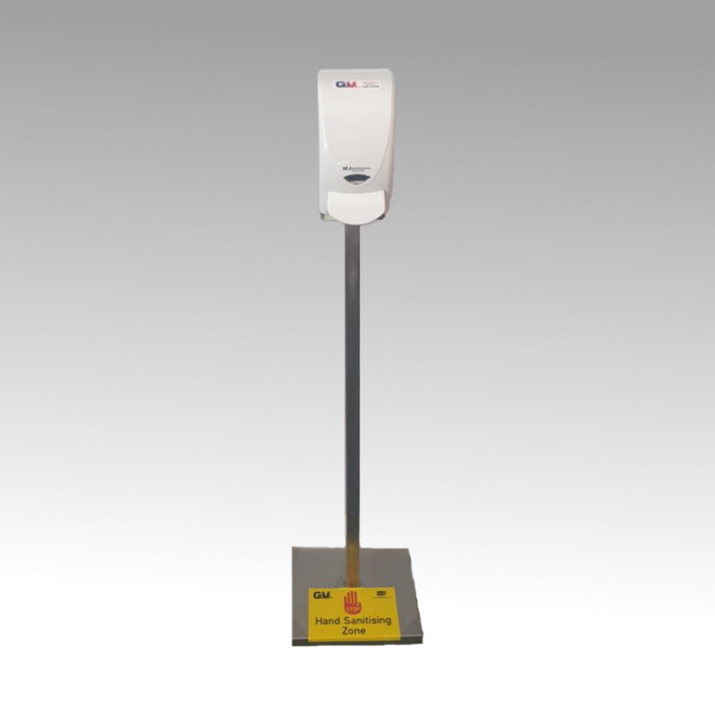 Go-Vi Sanitising Dispenser and Stand | + FREE Signage