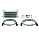 Mishimoto Universal 10 Row Oil Cooler Kit (Metal Braided Lines)