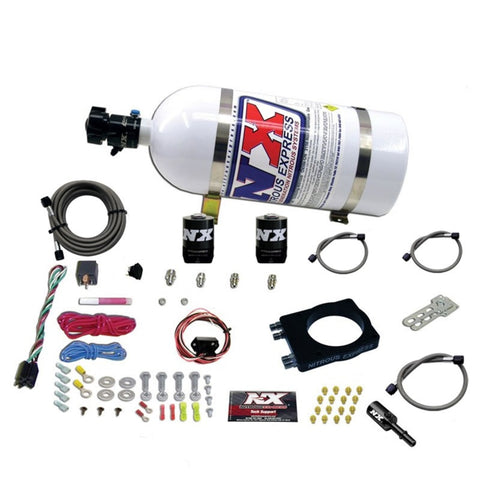 Nitrous Express Dodge Hemi Nitrous Plate Kit (50-400HP) w/10lb Bottle