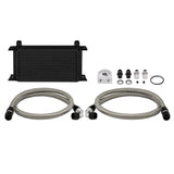Mishimoto Universal 19 Row Oil Cooler Kit - Black