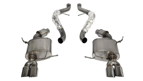 Corsa 08-12 BMW M3 E90 Polished Sport Cat-Back Exhaust