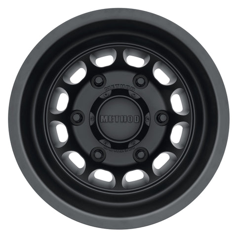 Method MR901 - REAR 16x5.5 -138mm Offset 6x205 161.04mm CB Matte Black Wheel