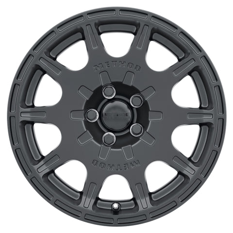 Method MR502 VT-SPEC 2 15x7 +15mm Offset 5x4.5 56.1mm CB Matte Black Wheel