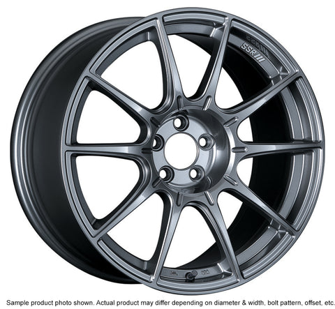 SSR GTX01 18x9.5 5x114.3 40mm Offset Dark Silver Wheel