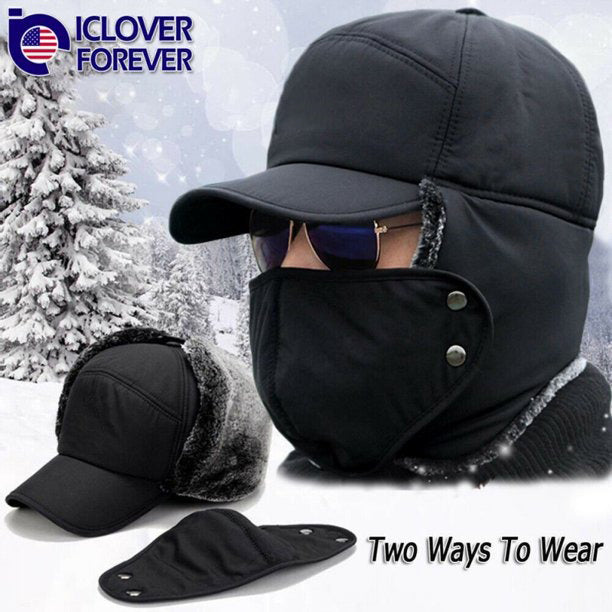 (Early Halloween Sale) Outdoor Cycling Cold-Proof Ear Warm Cap