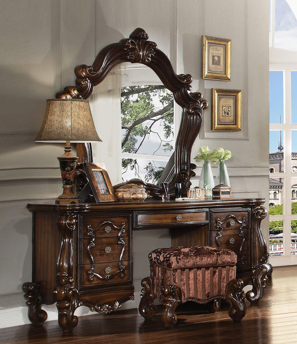 Versailles Cherry Oak Mirror image