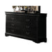 Louis Philippe Black Dresser image