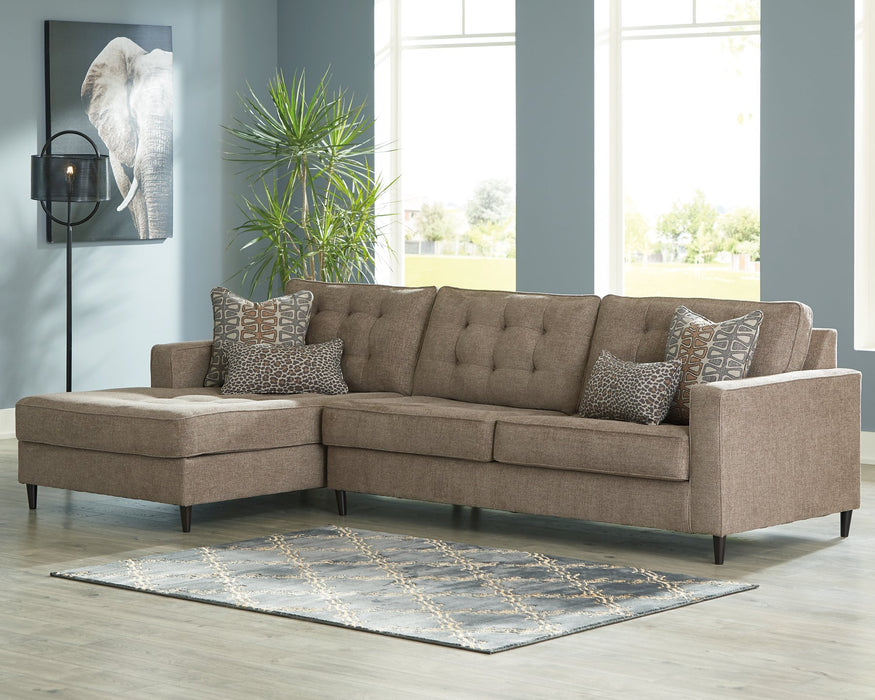 Flintshire Signature Design by Ashley 2-Piece Sectional with Chaise image