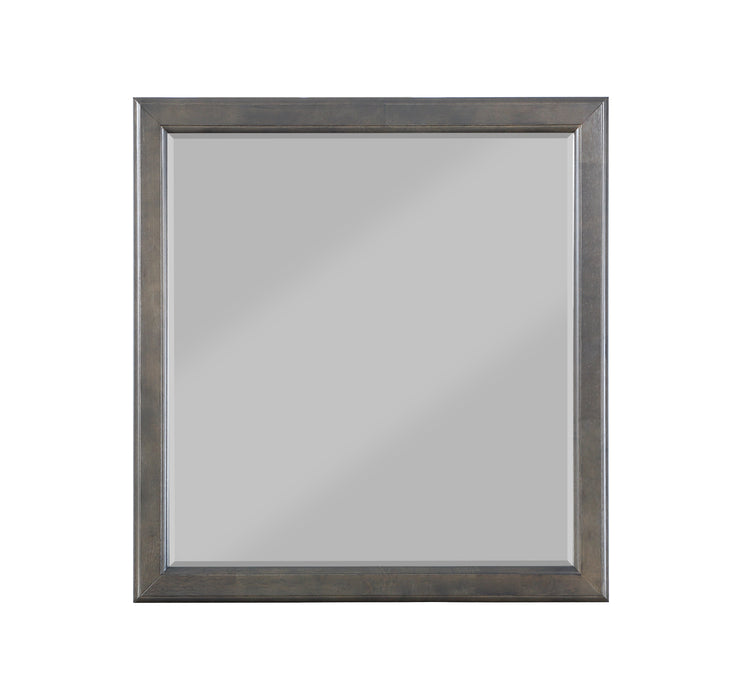 Louis Philippe Dark Gray Mirror image