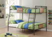 Brantley Sandy Black & Dark Bronze Hand-Brushed Full XL/Queen Bunk Bed image