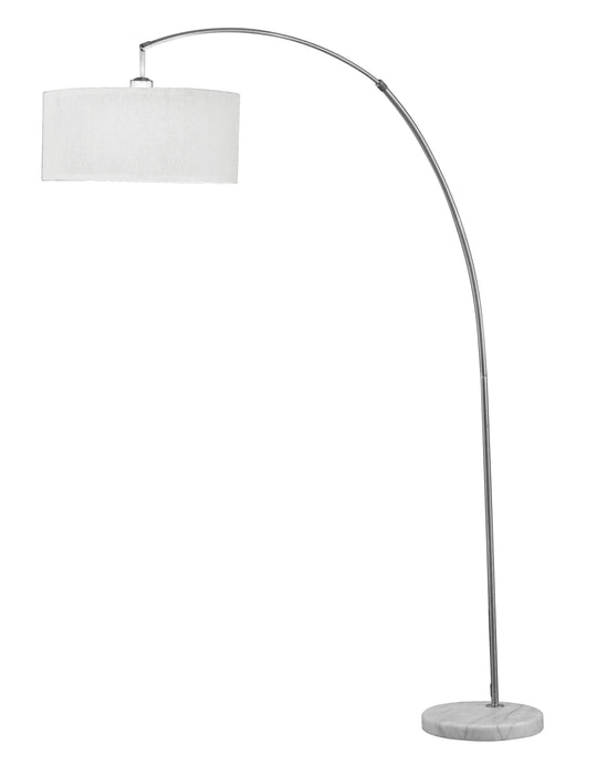 Cagney Brushed Nickel & Marble Floor Lamp image