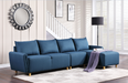 Marcin Gray Fabric Sectional Sofa image