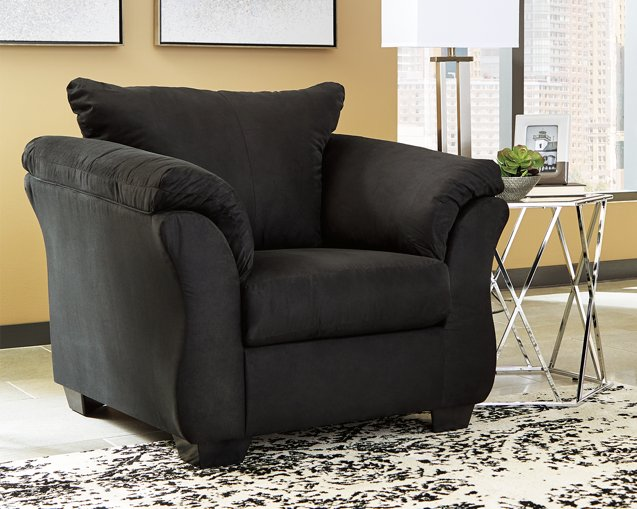 Darcy Signature Design by Ashley Black Chair