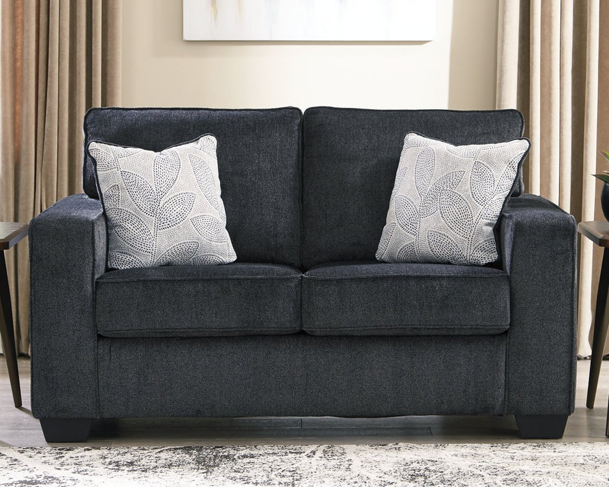 Altari Signature Design by Ashley Slate Loveseat