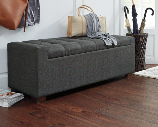 Cortwell Signature Design by Ashley Storage Bench image