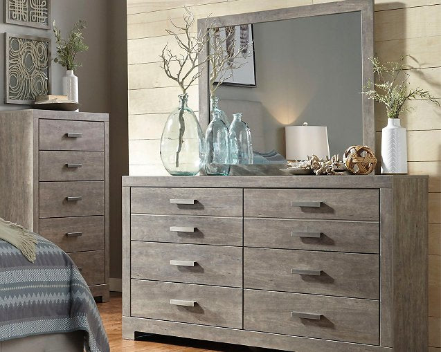 Culverbach Signature Design by Ashley Gray Dresser and Mirror