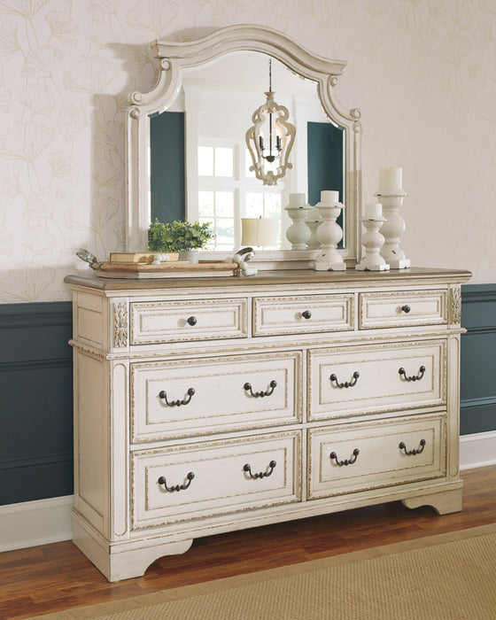 Realyn Signature Design by Ashley Two-tone Dresser and Mirror