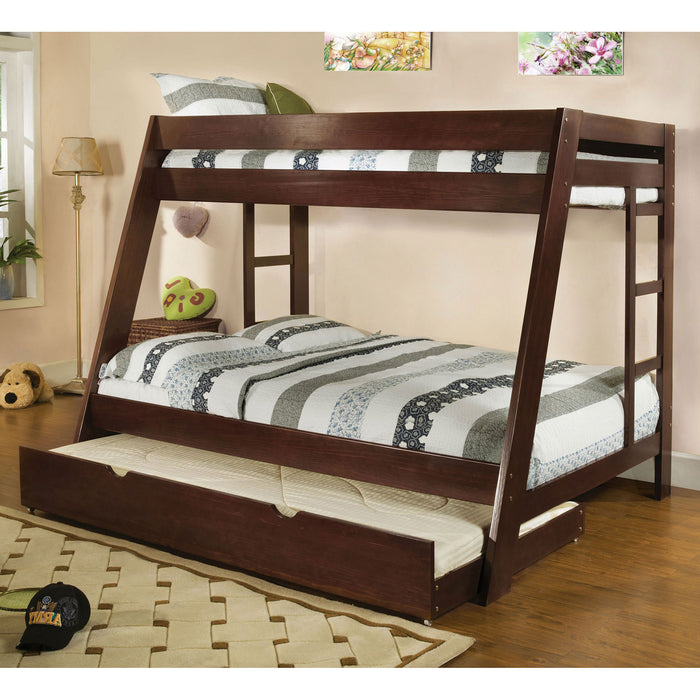 Arizona Dark Walnut Twin/Full Bunk Bed image