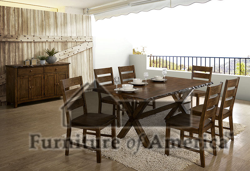 Woodworth Walnut Dining Table image