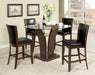 Manhattan III Brown Cherry Round Counter Ht. Table image