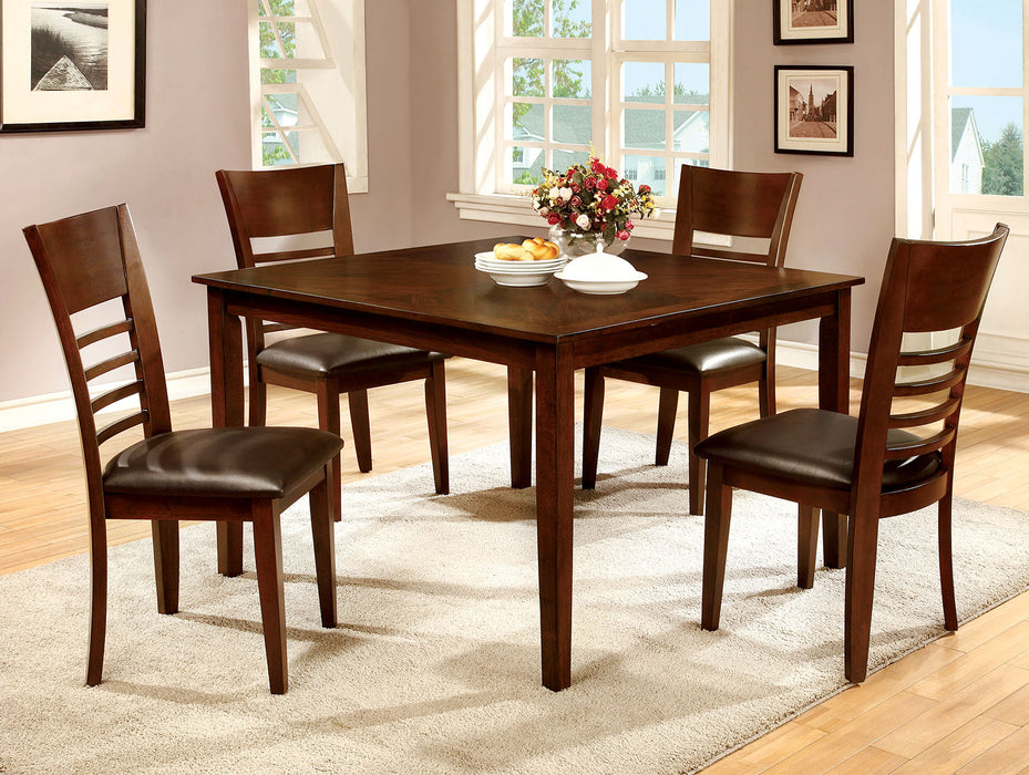 HILLSVIEW I Brown Cherry 5 Pc. Dining Table Set image