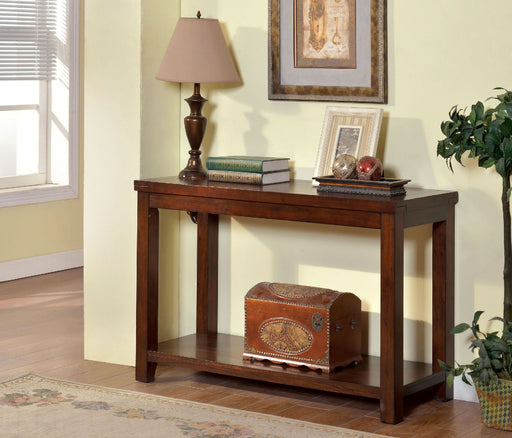 ESTELL Dark Cherry Sofa Table, Cherry image