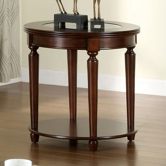Granvia Dark Cherry End Table image