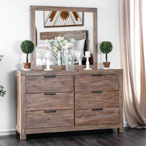 Wynton Weathered Light Oak Dresser image