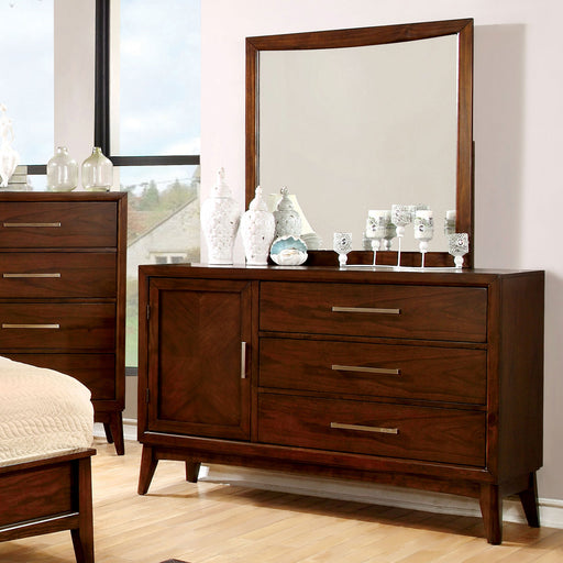 SNYDER Brown Cherry Dresser image