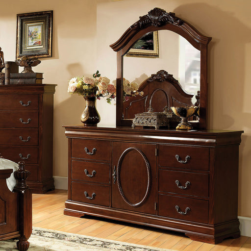 Velda II Brown Cherry Dresser image