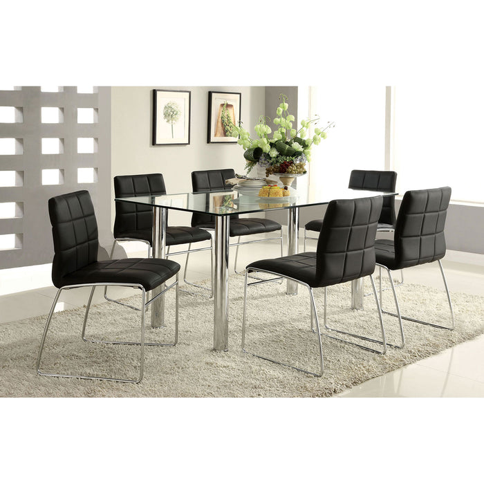Oahu Chrome Dining Table image