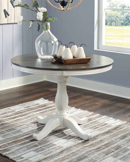 Nelling Signature Design by Ashley Dining Room Table Base image