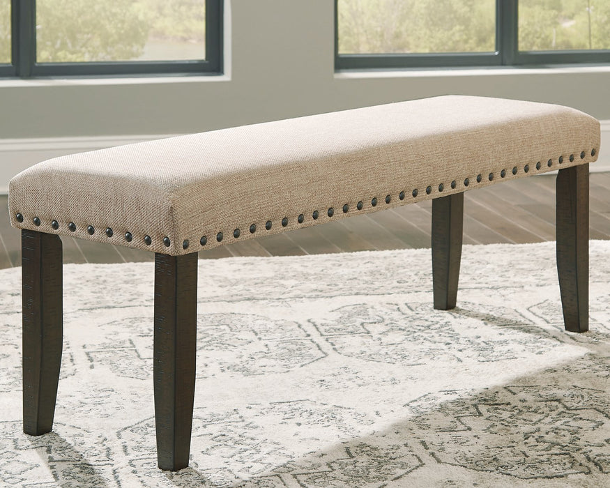 Rokane Signature Design by Ashley Light Brown Dining Bench
