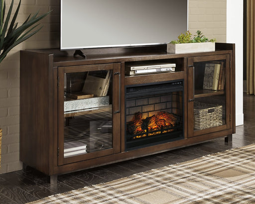 Starmore Signature Design by Ashley 70 TV Stand with Electric Fireplace image